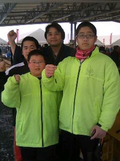 雪中ジャンボかき祭り2日目!