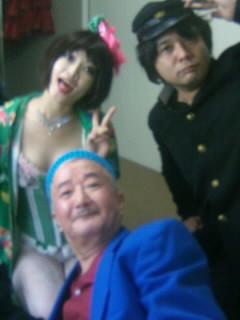 大阪スト○ップ劇場にてホープ一座初日修了〜っ!!