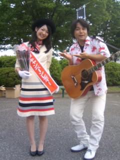 北脇、金沢競馬場で大熱唱〜っ!! その2