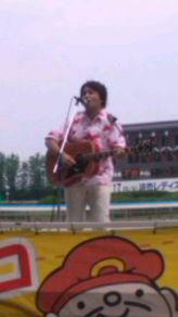 北脇、金沢競馬場で大熱唱〜っ!! その1