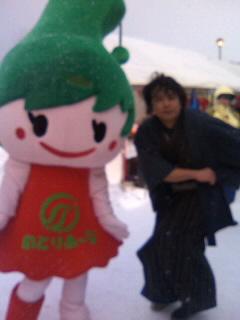 ジタバタする!?穴水雪中ジャンボかき祭り 1日目!!